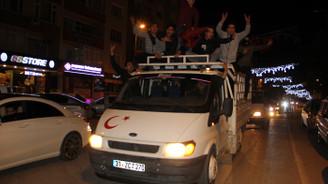 Zeytin Dalı Harekatı'na destek konvoyu
