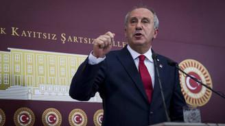 İnce CHP Genel Başkanlığı'na aday