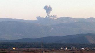PYD'nın Afrin'deki mevzileri ateş altına alındı