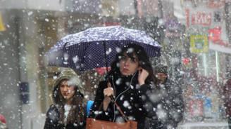 Marmara'da kar yağışı sürecek