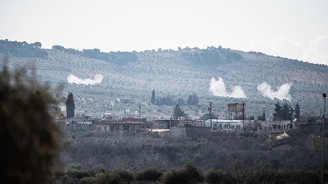 Afrin kırsalındaki terör mevzileri savaş uçakları ile vuruldu