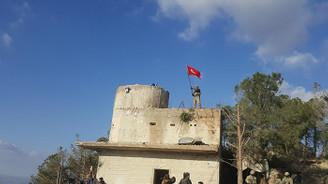 Burseya Dağı'na Türk Bayrağı