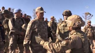 2. Ordu Komutanı Temel Burseya Dağı'nda