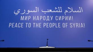 Soçi'de Suriyeli muhalifleri Türk heyeti temsil edecek