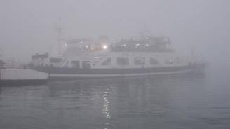 Çanakkale Boğazı'nda deniz ulaşımına sis engeli