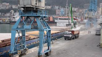 Trabzon Limanı'ndan yılda 1 milyon ton hububat gönderiliyor