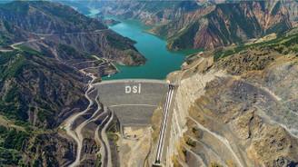 Kiğı Barajı'nda elektrik üretimi başladı