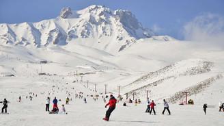 Erciyes'te kış turizmine Rus turist bereketi