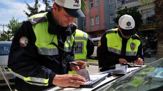 Denetimlerde 9 bin 512 sürücüye ceza