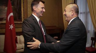 Çavuşoğlu, İngiliz mevkidaşı ile görüştü