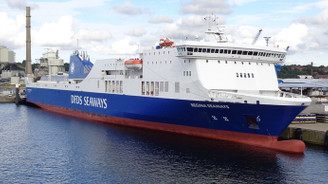 Baltık Denizi'nde 294 yolcusu olan feribotta yangın