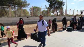 Suriyelilerin bayram dönüşü sürüyor