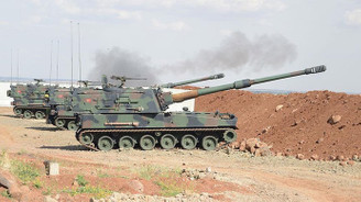 TSK, YPG'nin mevzilerini bombaladı