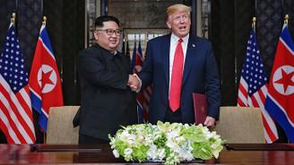 Trump: Kim ile tekrar görüşmeyi dört gözle bekliyorum