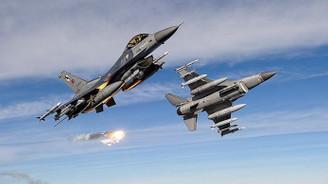 TSK ve MİT'ten Irak'ın kuzeyinde hava harekatı