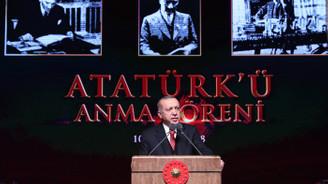Beştepe'de Atatürk'ü Anma Töreni