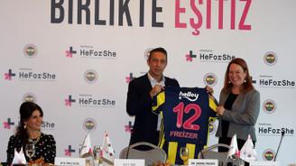 Fenerbahçe'de HeForShe projesi tanıtıldı