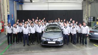 Yeni Corolla Hibrit Sakarya'dan 100 ülkeye ihraç edilecek