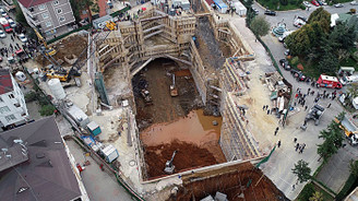 Metro inşaatı yakınında göçük: 2 ölü