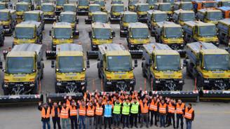 Ankara'da karla mücadelede 877 araç görev yapacak