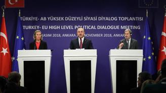 Türkiye ile AB İran konusunda mutabık kaldı