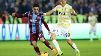 Trabzonspor, 8 yıl sonra Fenerbahçe'yi devirdi