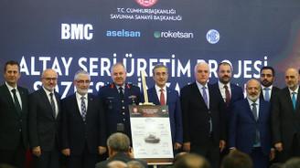 'Altay'da seri üretim için imzalar atıldı