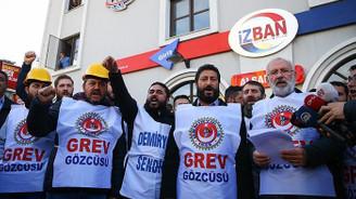 Demiryol-İş İzmir Şube Başkanı Ervüz: İşveren grev kırıcılığı yapmak istiyor
