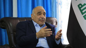 Irak Başbakanı Abdulmehdi: ABD'nin İran'a yaptırımlarının parçası değiliz