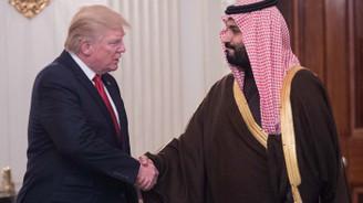 Trump'tan veliaht prens Salman'a güçlü destek