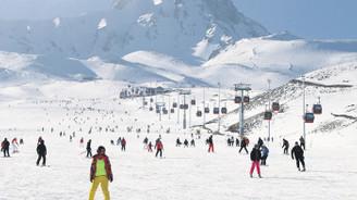 Kayak merkezlerinde yılbaşı hazırlığı
