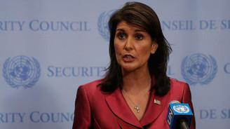 Haley'den Orta Doğu barış planı değerlendirmesi