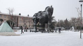 Trakya'da okullara kar tatili
