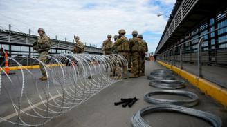 ABD ordusu 47 gün daha Meksika sınırında