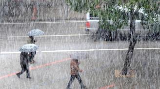 Türkiye sağanak yağış etkisinde kalacak