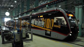 Yerli ve milli tramvaydan 127 milyonluk tasarruf