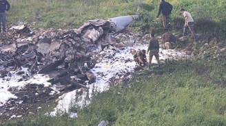 İsrail: F-16'yı Suriye'nin hava savunması düşürdü