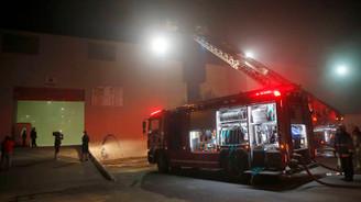 CNR'da yangın çıktı