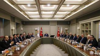 Erdoğan, Uyum Komisyonu üyeleriyle bir araya geldi