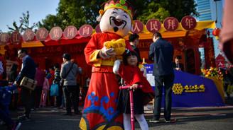 Çin'de Köpek Yılı kutlamaları