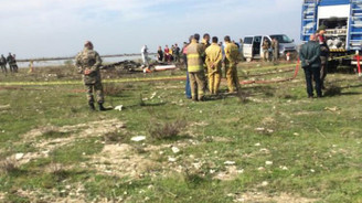 İzmir'de askeri uçak düştü: İki pilot şehit