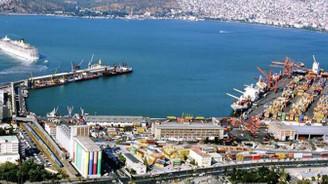 İzmir limanlarından konteyner yükü rekoru