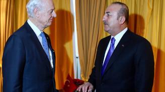 Çavuşoğlu, BM Suriye Özel Temsilcisi Mistura ile bir araya geldi