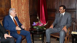 Başbakan Yıldırım, Münih'te Katar Emiri Al Sani ile görüştü