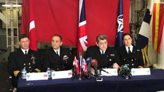 NATO gemileri Sarayburnu'nda demirledi