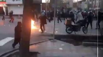 İran'da protestolarda 3 polis öldürüldü
