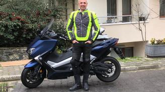 Mahir Aydın: Zamanı satın almanın tek yolu motosiklet