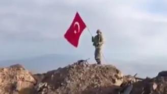 Darmık Dağı'na Türk bayrağı dikildi