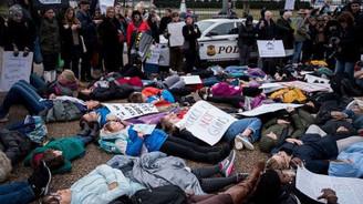ABD'de gençlerden silah kontrolü protestosu