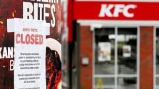 Tavuklar bitti, KFC İngiltere'deki restoranları kapattı